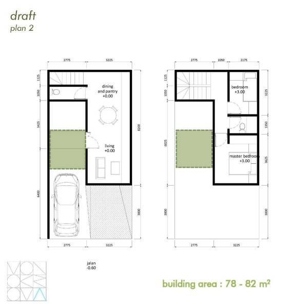 Monokroma Architect Cisauk Landed House Jakarta Jakarta Draft 2 Minimalis 839