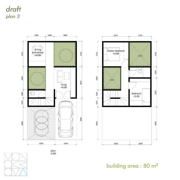 Monokroma Architect Cisauk Landed House Jakarta Jakarta Draft 3 Minimalis 840