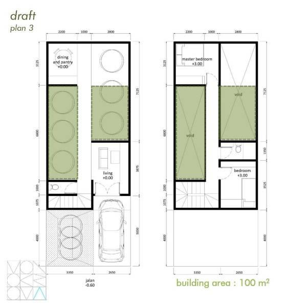 Monokroma Architect Cisauk Landed House Jakarta Jakarta Draft 3A Minimalis 841