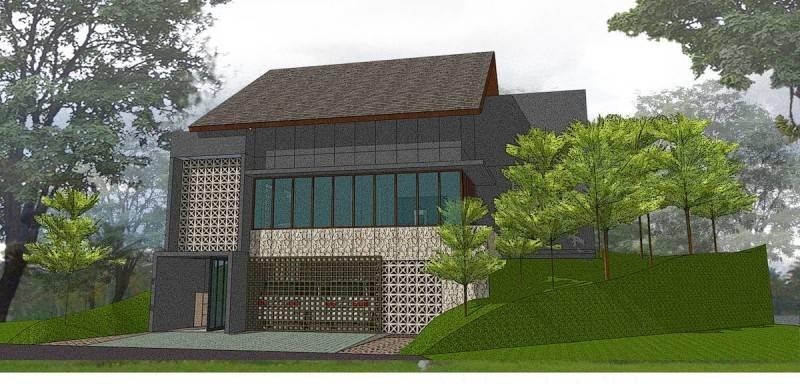 Monokroma Architect Cinere House Jakarta Jakarta Final Design Modern 851