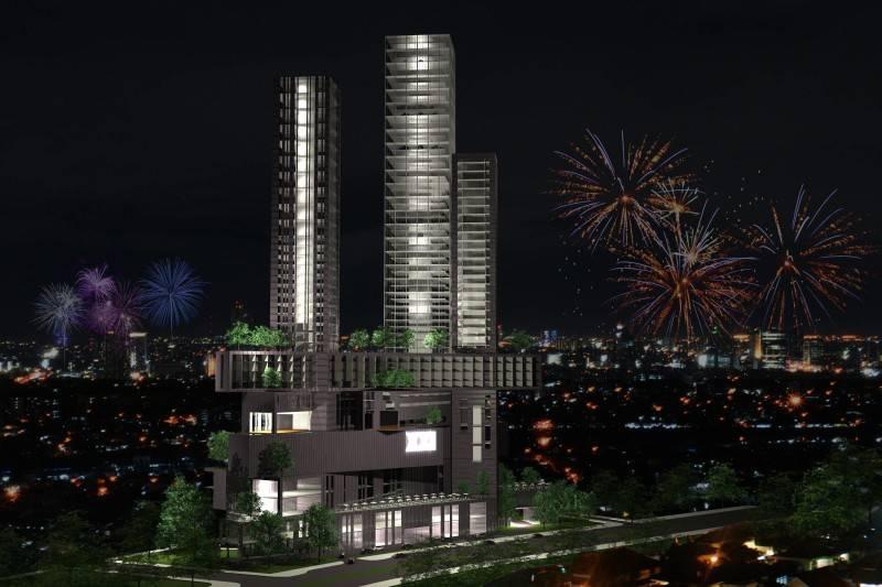 Monokroma Architect Platinum Condominium South Tangerang, Banten South Tangerang, Banten Front View  6838