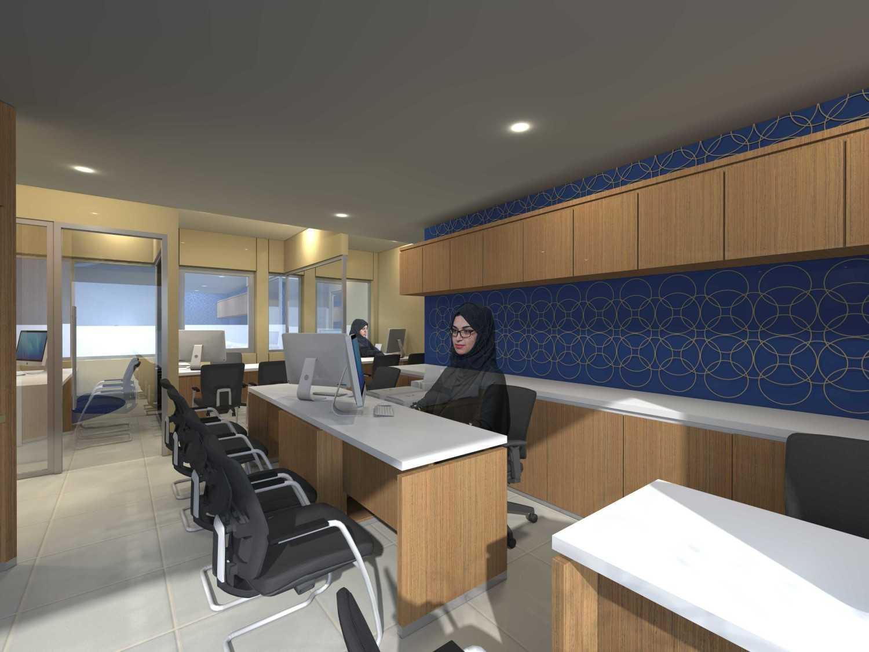 Monokroma Architect Saudi Arabian Airlines Office Soekarno Hatta Airport Terminal 3 Soekarno Hatta Airport Terminal 3 In-Flight-Alternative-1 Kontemporer 14745
