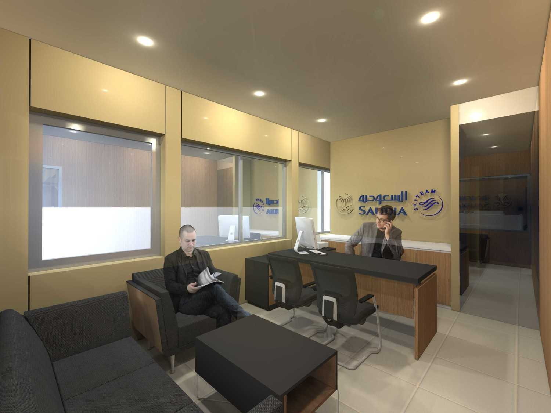 Monokroma Architect Saudi Arabian Airlines Office Soekarno Hatta Airport Terminal 3 Soekarno Hatta Airport Terminal 3 26-Station-Management-Alternative-2 Kontemporer 14760