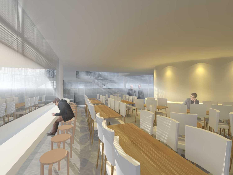 Monokroma Architect Eku Headquarter Jakarta Jakarta 5-Dining-Room Modern 14790