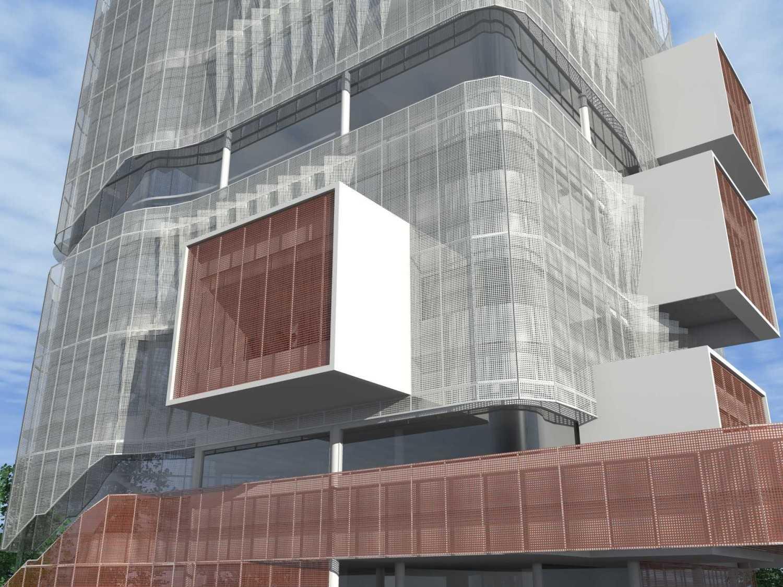 Monokroma Architect Eku Headquarter Jakarta Jakarta 9-Facade Modern 14795