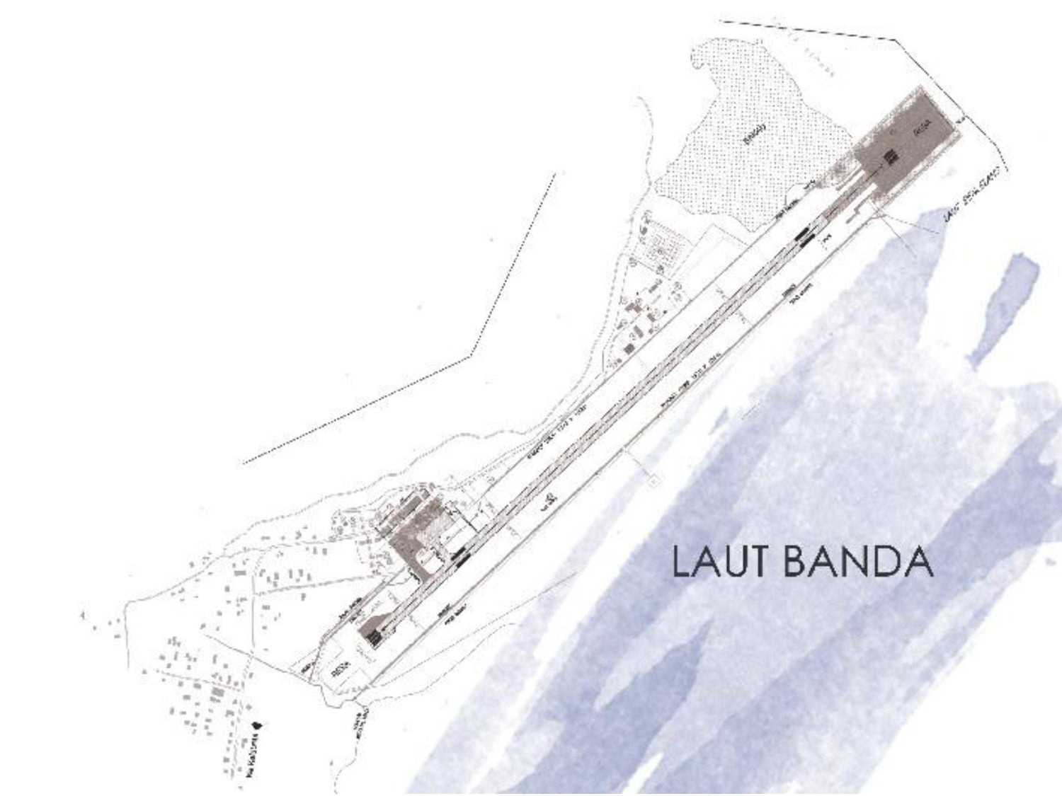 Monokroma Architect Mali Alor Airport  Alor, Ntt Alor, Ntt 2-Site-Existing-Airport Kontemporer 14811