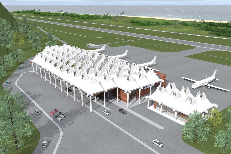 Monokroma Architect Mali Alor Airport  Alor, Ntt Alor, Ntt 1-Perspective Kontemporer 14812