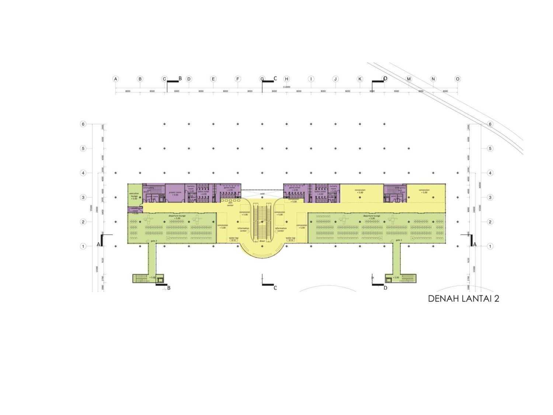 Monokroma Architect Mali Alor Airport  Alor, Ntt Alor, Ntt 7-1St-Floor-Plan Kontemporer 14817