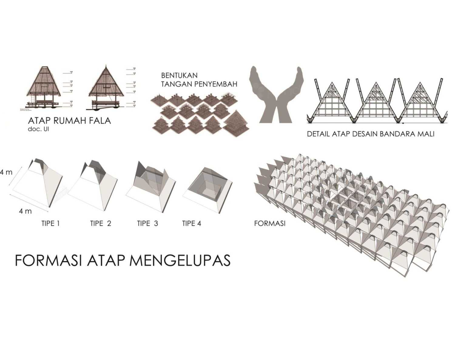 Monokroma Architect Mali Alor Airport  Alor, Ntt Alor, Ntt 9-Roof-Formation Kontemporer 14819