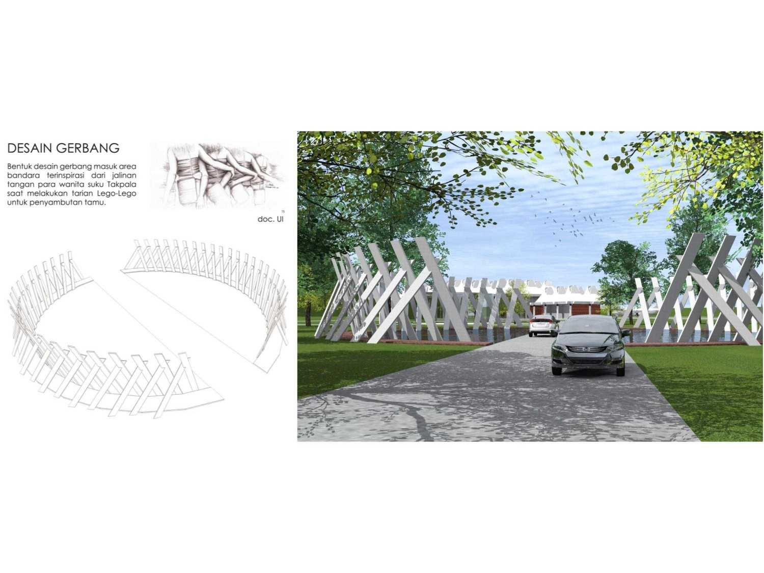 Monokroma Architect Mali Alor Airport  Alor, Ntt Alor, Ntt 14-Gate-Design Kontemporer 14824