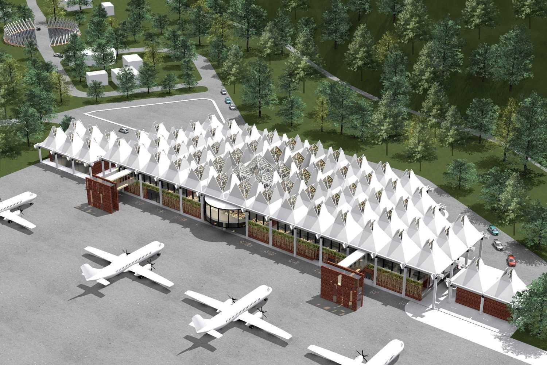 Monokroma Architect Mali Alor Airport  Alor, Ntt Alor, Ntt 15-Perspective Kontemporer 14825