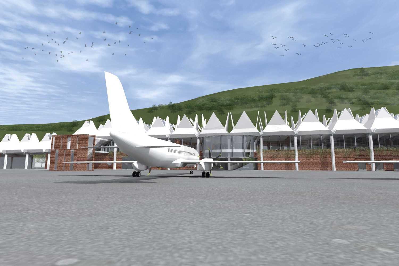 Monokroma Architect Mali Alor Airport  Alor, Ntt Alor, Ntt 18-Apron Kontemporer 14828