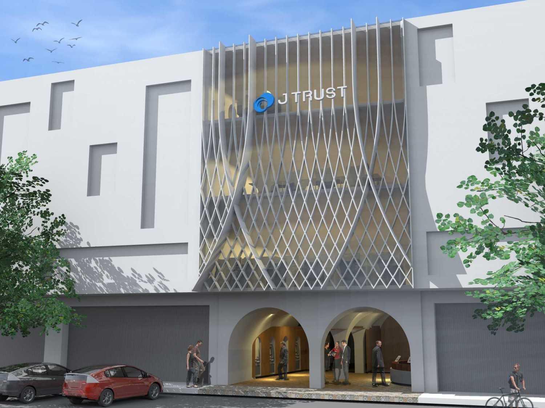 Monokroma Architect J Trust Bank Facade Jakarta Jakarta 8-Alternative-2-2 Modern 14888