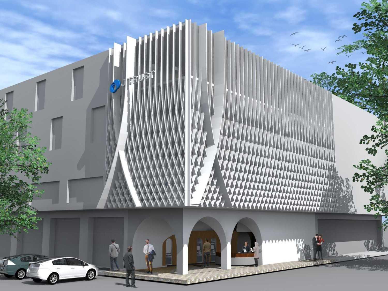 Monokroma Architect J Trust Bank Facade Jakarta Jakarta 9-Alternative-2-3 Modern 14890