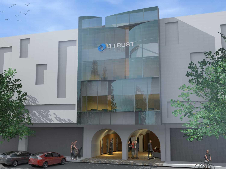 Monokroma Architect J Trust Bank Facade Jakarta Jakarta 13-Alternative-3-2 Modern 14893