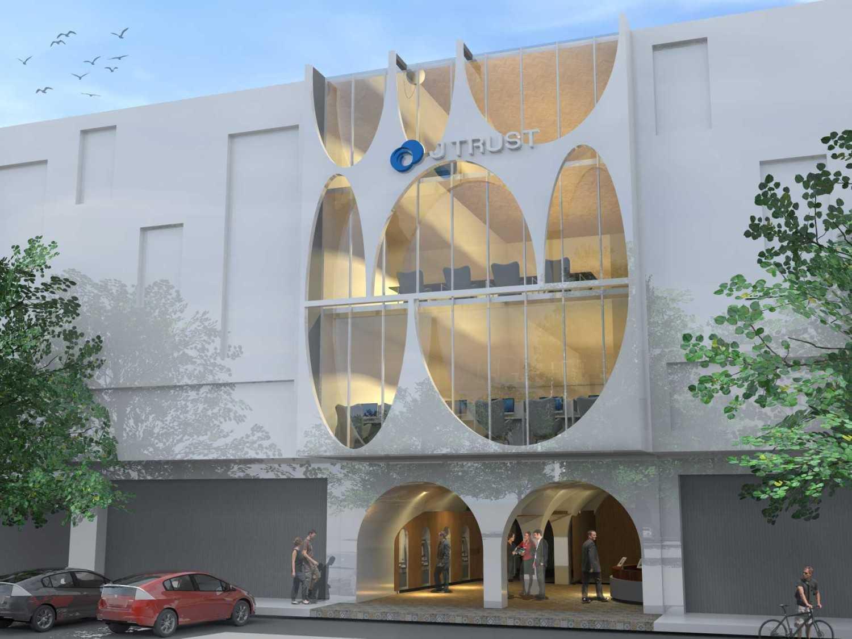 Monokroma Architect J Trust Bank Facade Jakarta Jakarta 17-Alternative-4-2 Modern 14897