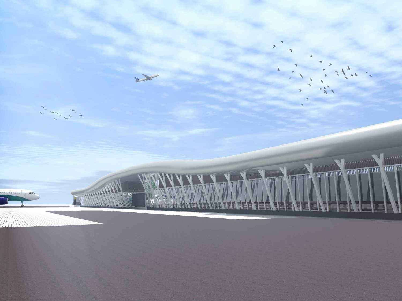 Monokroma Architect Adisutjipto Airport Terminal Connector Jogjakarta Jogjakarta 1-Pespective Modern 15031