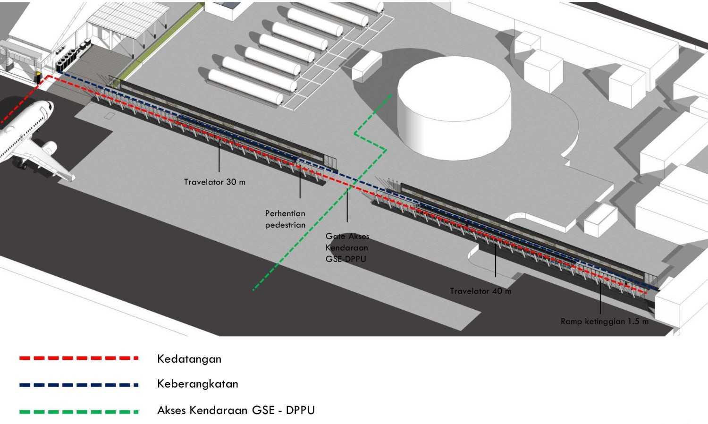 Monokroma Architect Adisutjipto Airport Terminal Connector Jogjakarta Jogjakarta 3-Circulation-Flow Modern 15032