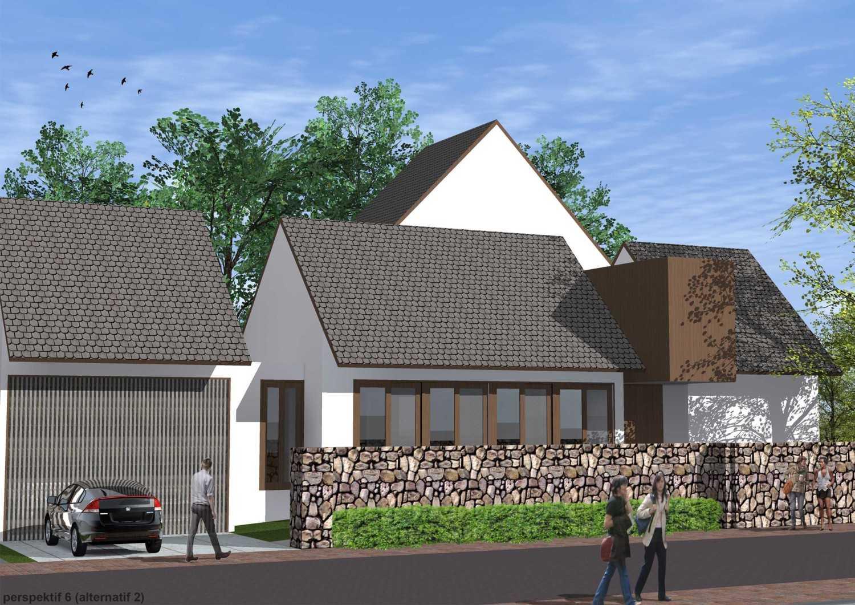 Foto inspirasi ide desain atap 8-draft-1-roof-variation oleh Monokroma Architect di Arsitag