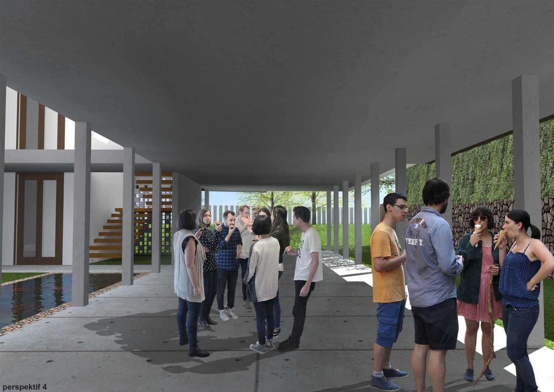 Monokroma Architect Puri Indah House Jakarta Jakarta 17-Draft-2-Multifunction-Room  15143