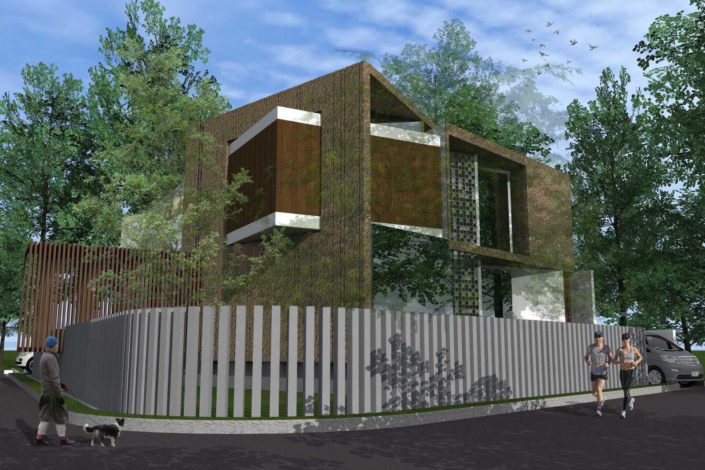 Monokroma Architect Puri Indah House Jakarta Jakarta 21-Final-Perspective  15147