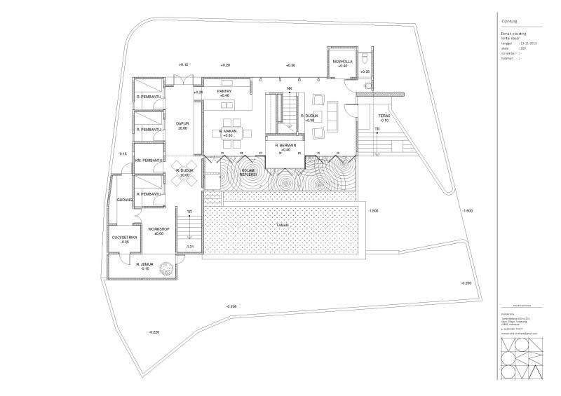 Monokroma Architect Cijantung House Jakarta Jakarta Master-Existing-Model  432