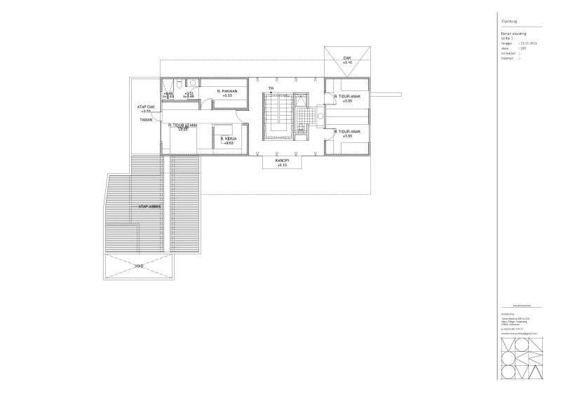 Monokroma Architect Cijantung House Jakarta Jakarta Master-Existing-Model  433