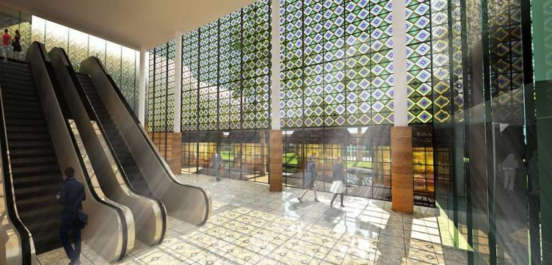 Monokroma Architect Labuan Bajo Airport Labuan Bajo Labuan Bajo Eskalator Modern 500