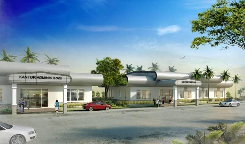 Monokroma Architect Labuan Bajo Airport Labuan Bajo Labuan Bajo Adm Office Modern 501