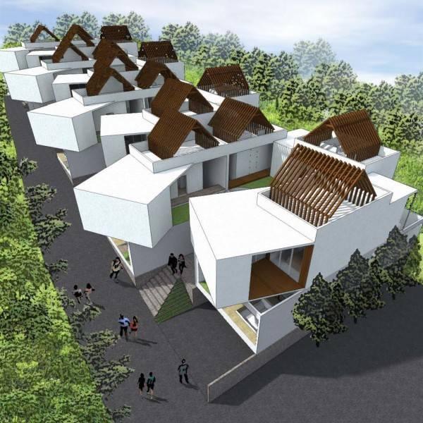 Monokroma Architect Villa Kabe-Kabe Jimbaran, Bali Jimbaran, Bali Bird Eye View  514