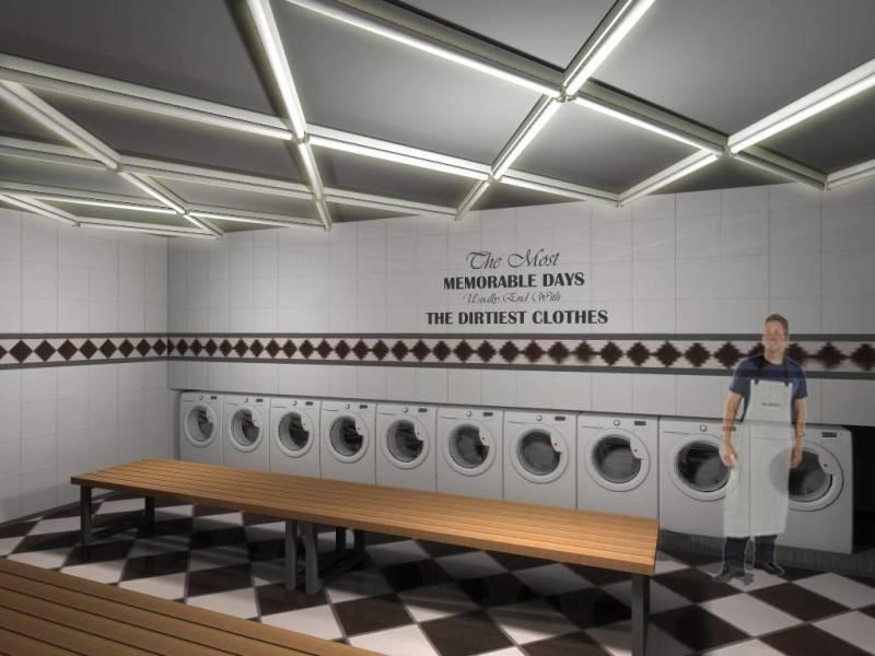 Foto inspirasi ide desain laundry Laundry oleh Monokroma Architect di Arsitag