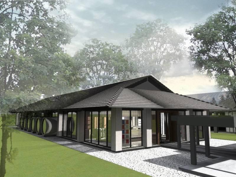 Monokroma Architect Bali Culinary Pastry School Bali Bali Library Industrial 542