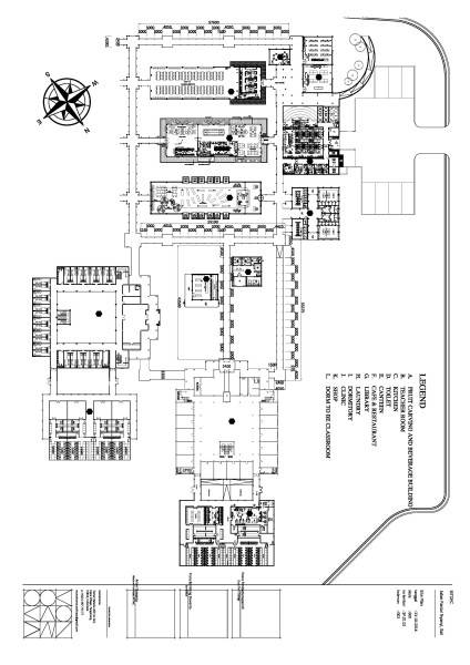 Monokroma Architect Bali Culinary Pastry School Bali Bali Site Plan Industrial 548