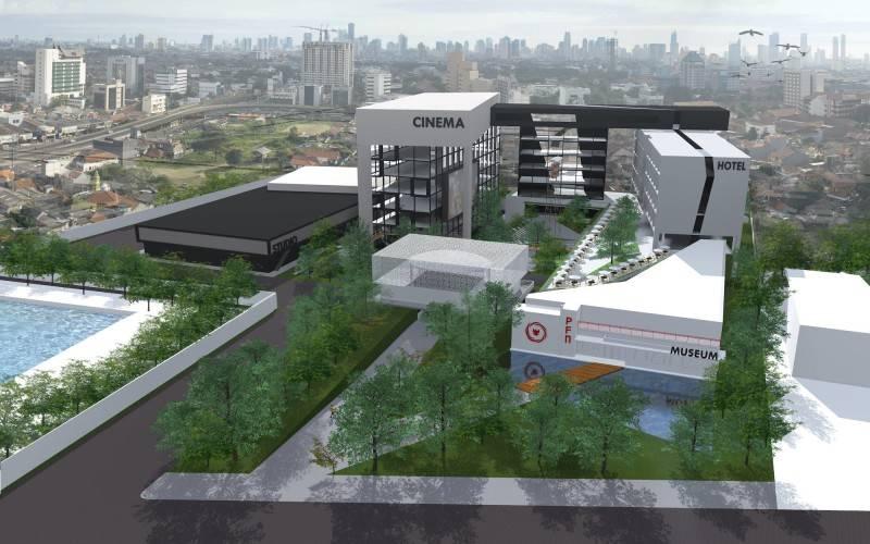 Monokroma Architect Pfn Movie Complex Jakarta Jakarta Perspective Modern 519