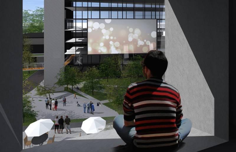 Monokroma Architect Pfn Movie Complex Jakarta Jakarta Hotel Window Modern 525