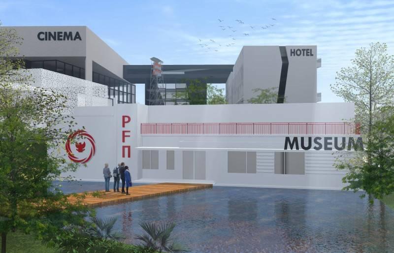 Monokroma Architect Pfn Movie Complex Jakarta Jakarta Museum Modern 526