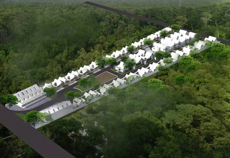 Monokroma Architect Banjarbaru Residence Indonesia Indonesia Bird Eye View Kontemporer 552
