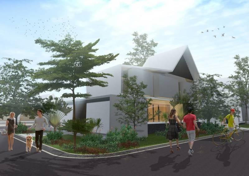 Monokroma Architect Banjarbaru Residence Indonesia Indonesia Rumahgm1A Kontemporer 561
