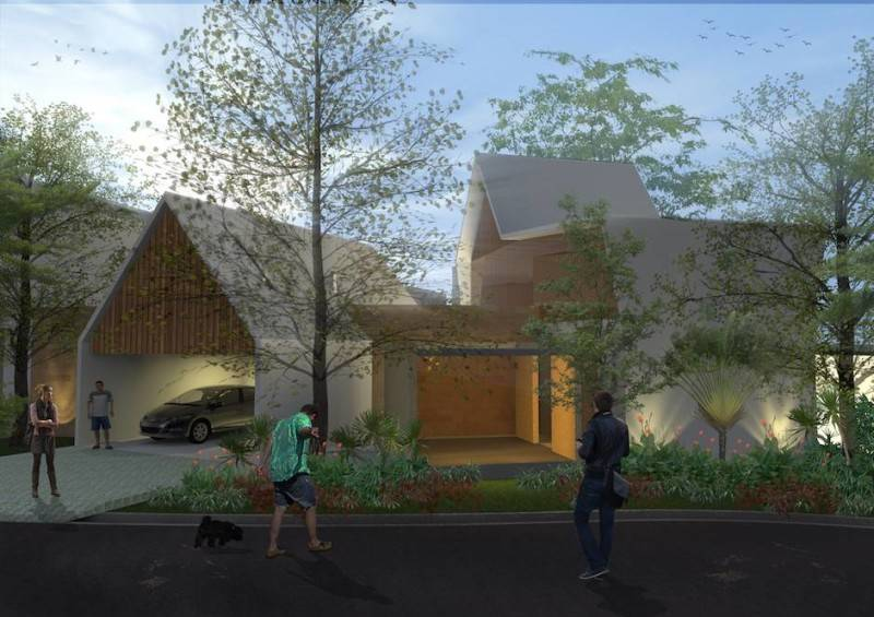 Monokroma Architect Banjarbaru Residence Indonesia Indonesia Facade Kontemporer 563