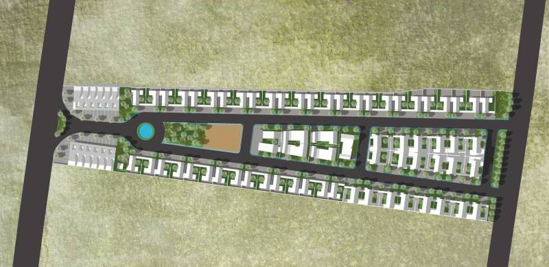 Monokroma Architect Banjarbaru Residence Indonesia Indonesia Draft-2B-Masterplan1 Modern 568