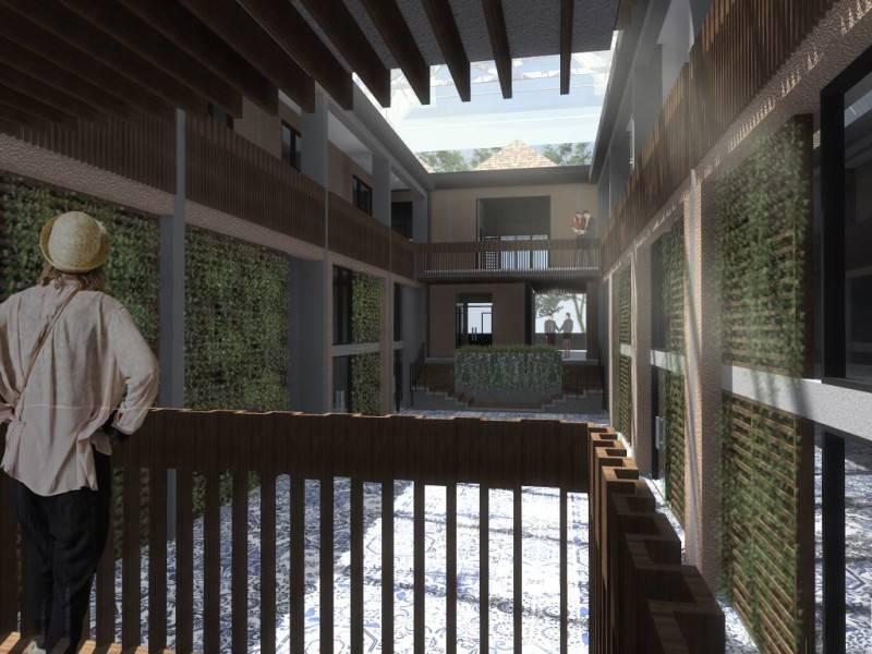 Foto inspirasi ide desain kantor industrial Scene-2 oleh Monokroma Architect di Arsitag