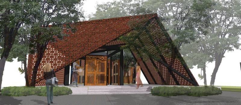 Monokroma Architect Saka Agung Abadi Indonesia Indonesia Facade Modern 605