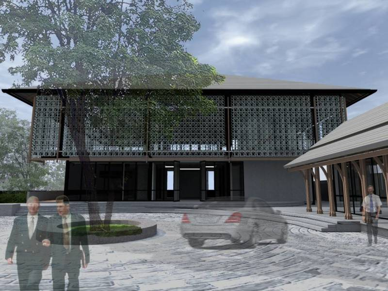 Monokroma Architect Saka Agung Abadi Indonesia Indonesia Drop Off Area Modern 617