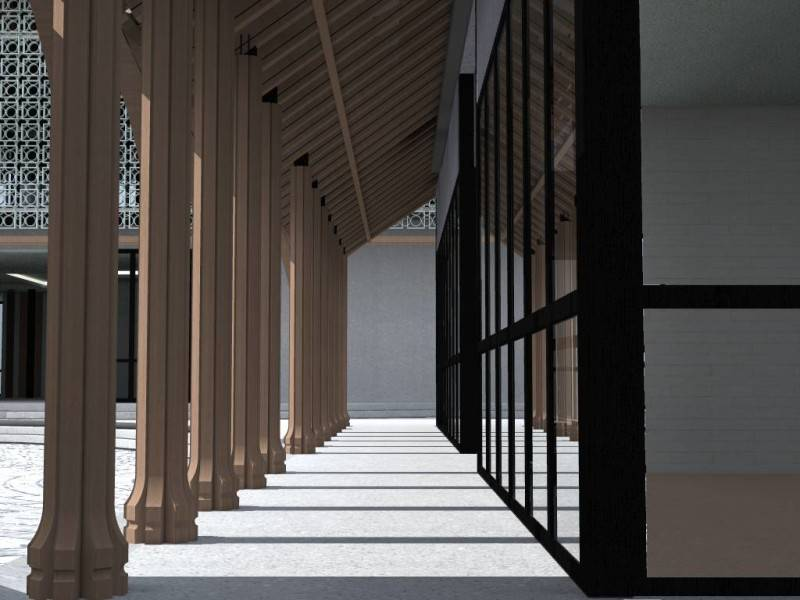 Monokroma Architect Saka Agung Abadi Indonesia Indonesia Terrace Modern 621