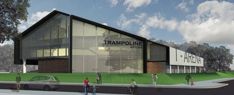 Monokroma Architect Trampoline Arena Serpong Serpong Facade Modern 588