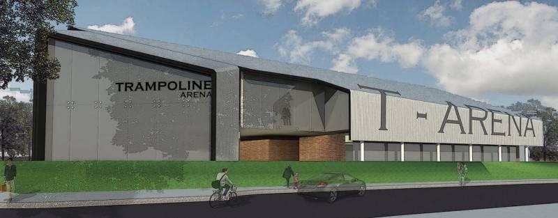 Monokroma Architect Trampoline Arena Serpong Serpong Facade Modern 590