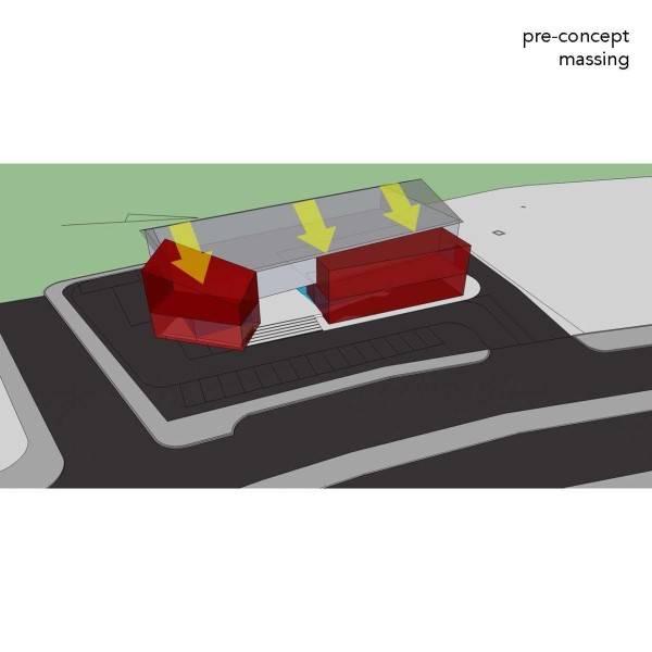Monokroma Architect Trampoline Arena Serpong Serpong Pre-Concept-Trampoline-Arena Modern 596