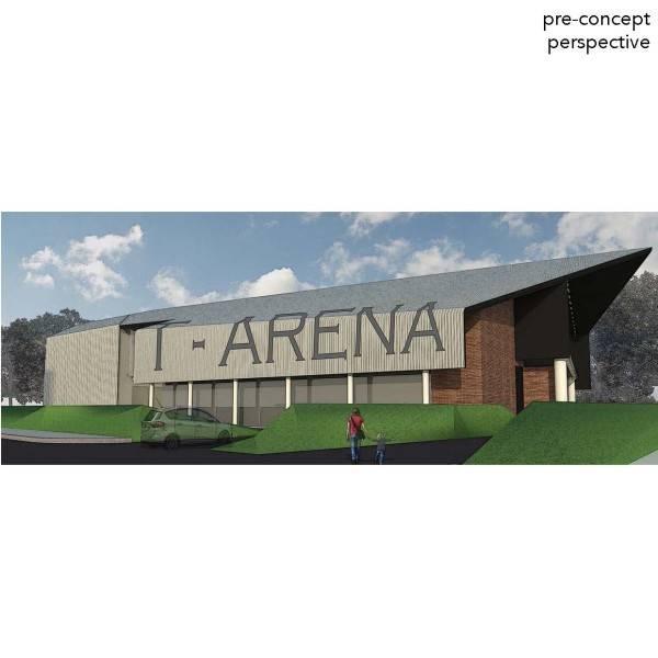Monokroma Architect Trampoline Arena Serpong Serpong Facade Modern 600