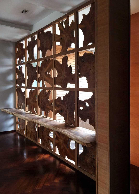 Monokroma Architect Dicky House   7-Dinding-Kayu-Motif Modern 33532