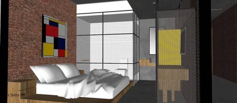 Foto inspirasi ide desain kamar tidur tropis Bedroom oleh Monokroma Architect di Arsitag
